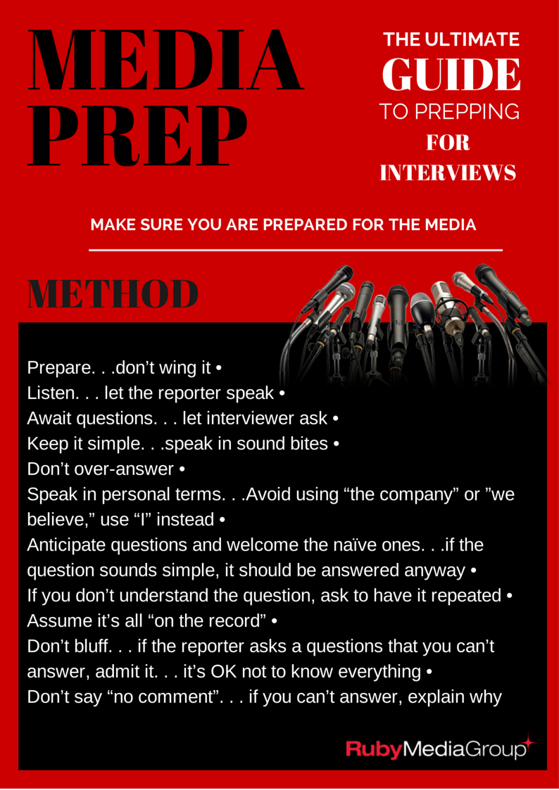 Interview tips from Ruby media group