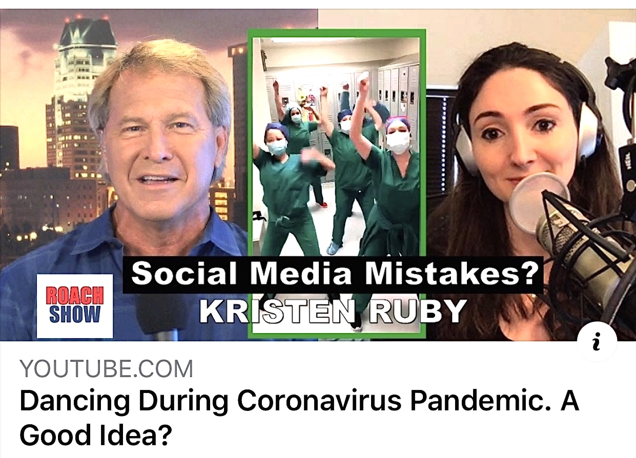 doctors on tiktok dancing during coronavirus pandemic